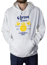 Load image into Gallery viewer, Corona Extra Label Hoodie in White