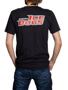 Niagara IceDogs Bones T-Shirt- Black Back