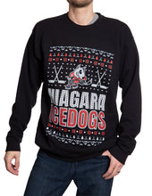 Load image into Gallery viewer, Niagara Icedogs Ugly Sweater Crew Neck