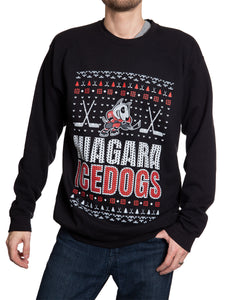 Niagara Icedogs Ugly Sweater Crew Neck