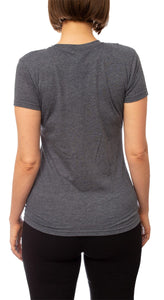 Ladies Corona Extra T-Shirt- Charcoal Back
