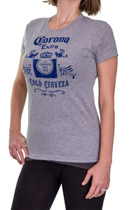 Ladies Corona Extra T-Shirt- Oxford Side Image