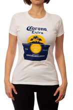 Load image into Gallery viewer, Ladies Corona Extra T-Shirt- White