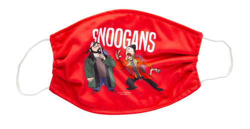 Snoogans Face Mask, Jay and Silent Bob. Red Mask.