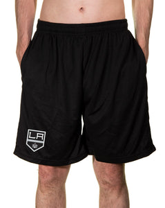 NHL Mens Air Mesh Shorts- Los Angeles Kings