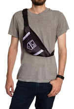 Load image into Gallery viewer, NHL Unisex Adjustable Fanny Pack- Los Angeles Kings Crossbody