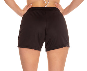 San Jose Sharks Air Mesh Shorts for Women - Junior Sizing