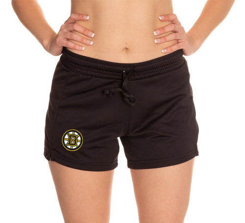 Ladies NHL Air Mesh Short- Boston Bruins