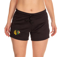 Load image into Gallery viewer, Ladies NHL Air Mesh Short- Chicago Blackhawks