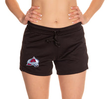 Load image into Gallery viewer, Ladies NHL Air Mesh Short- Colorado Avalanche