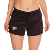 Load image into Gallery viewer, Ladies NHL Air Mesh Short- Pittsburgh Penguins