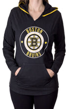 Load image into Gallery viewer, NHL Ladies Official Team Hoodie- Boston Bruins Front