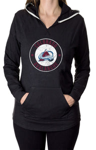 NHL Ladies Official Team Hoodie-  Colorado Avalanche Front
