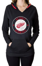 Load image into Gallery viewer, NHL Ladies Official Team Hoodie- Detroit Red Wings Front