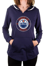 Load image into Gallery viewer, NHL Ladies Official Team Hoodie- Edmonton Oilers Front