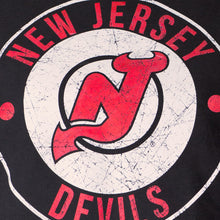 Load image into Gallery viewer, NHL Ladies Official Team Hoodie- New Jersey Devils Distressed Logo