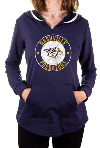 NHL Ladies Official Team Hoodie- Nashville Predators Front
