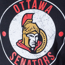 Load image into Gallery viewer, NHL Ladies Official Team Hoodie- Ottawa Senators Distressed Logo