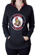 Load image into Gallery viewer, NHL Ladies Official Team Hoodie- Ottawa Senators Front