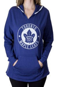 NHL Ladies Official Team Hoodie- Toronto Maple Leafs Front