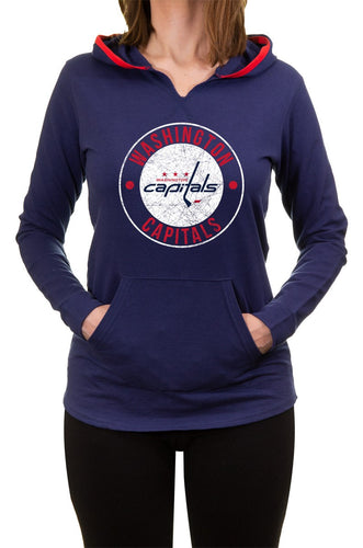 NHL Ladies Official Team Hoodie- Washington Capitals Front