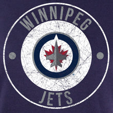 Load image into Gallery viewer, NHL Ladies Official Team Hoodie- Winnipeg Jets Distressed Logo