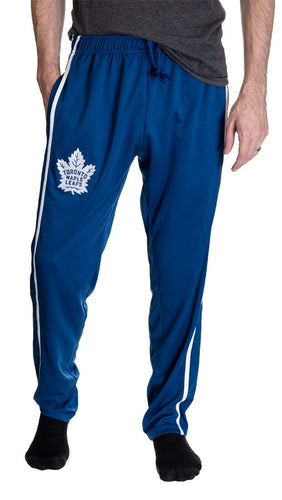 NHL Men's Striped Training Pant- Toronto Maple Leafs