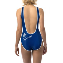 Load image into Gallery viewer, Ladies One-Piece Swimsuit- Toronto Maple Leafs
