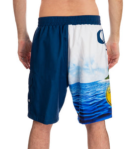 Mens Corona Summer Can Boardshort - front back