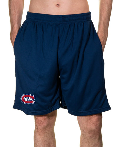 NHL Mens Air Mesh Shorts- Montreal Canadiens