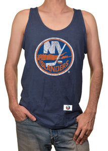 Mens NHL Team Logo Tank Top- New York Islanders