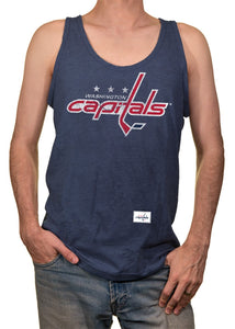 Mens NHL Team Logo Tank Top- Washington Capitals