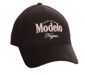 Modelo Cerveza Nergra Adjustable Baseball Cap (Black)