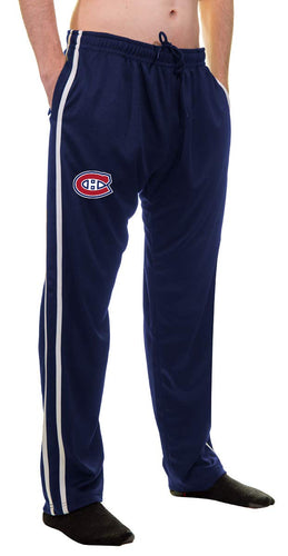 NHL Men's Striped Training Pant- Montreal Canadiens