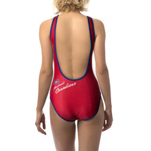Load image into Gallery viewer, Ladies One-Piece Swimsuit- Montreal Canadiens