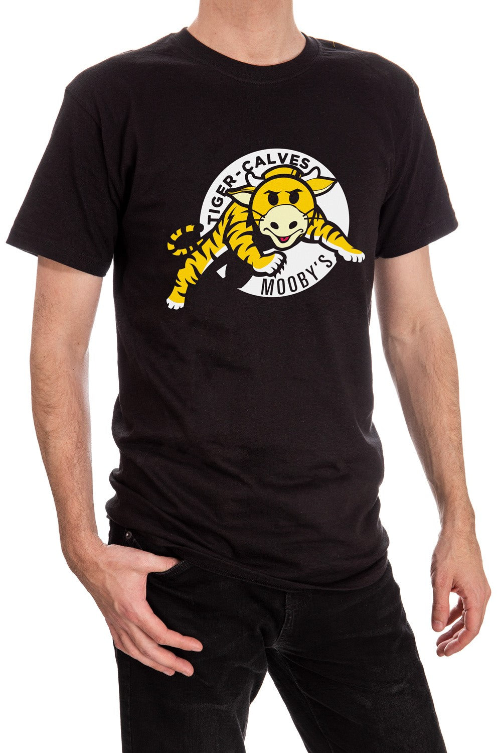Limited Edition Mooby's Tiger-Calves Parody T-Shirt - Jay and Silent Bob