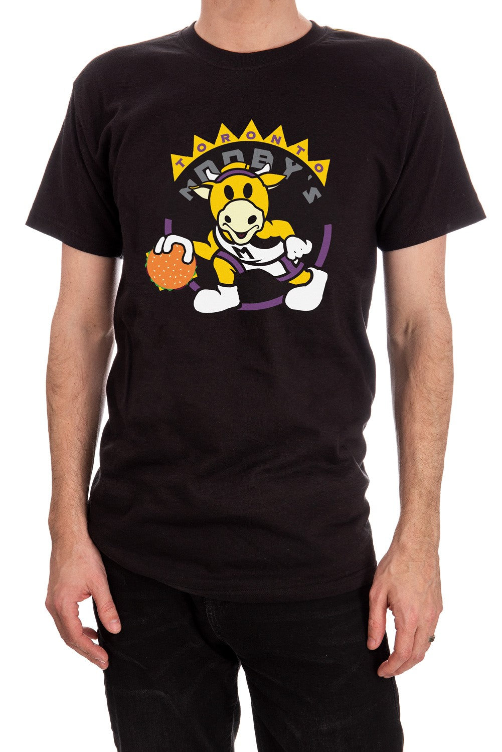 Limited Edition Mooby's Toronto Raptors Parody T-Shirt - Jay and Silent Bob