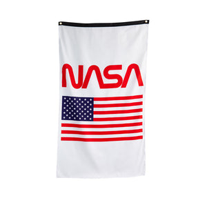 Nasa USA Flag Banner