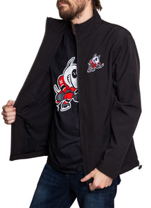 Niagara IceDogs Logo Jacket- Black Side