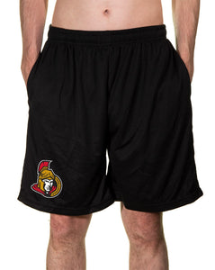 NHL Mens Air Mesh Shorts- Ottawa Senators