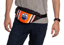 Load image into Gallery viewer, NHL Unisex Adjustable Fanny Pack- Edmonton Oilers Waist Bag