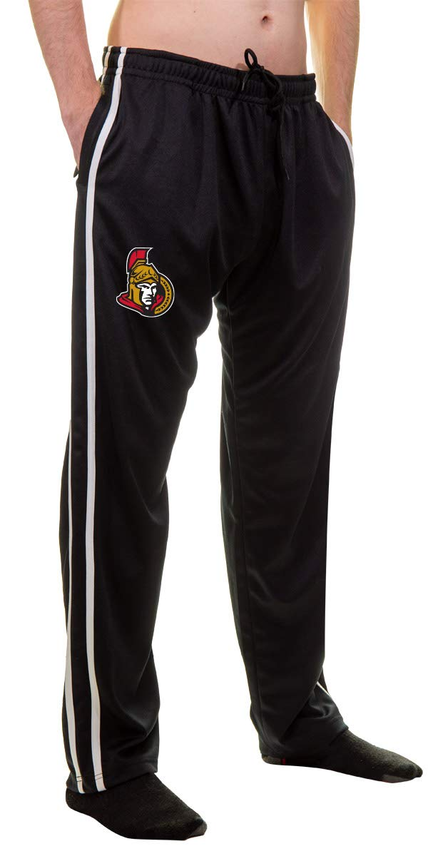 NHL Men's Striped Training Pant- Ottawa Senators