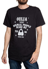 "Load image into Gallery viewer, Novelty Halloween Themed T-Shirt-""Ouija"""