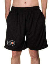 Load image into Gallery viewer, NHL Mens Air Mesh Shorts- Philadelphia Flyers
