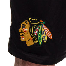Load image into Gallery viewer, NHL Mens Air Mesh Shorts- Chicago Blackhawks Team Logo