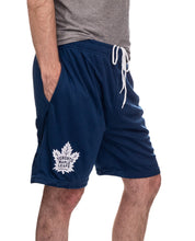 Load image into Gallery viewer, NHL Mens Air Mesh Shorts-Toronto Maple Leafs Right Side