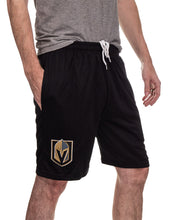 Load image into Gallery viewer, NHL Mens Team Air Mesh Shorts-Vegas Golden Knights Side