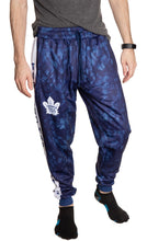 Load image into Gallery viewer, Toronto Maple Leafs Tie Dye Jogger Pants for Men Front View.