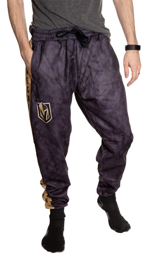 NHL Men's Tie Dye Jogger Pants - Vegas Golden Knights