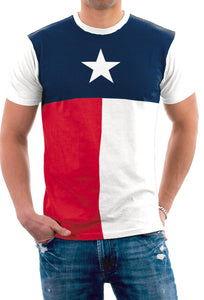 Men's Lone Star State Texas Flag T-Shirt